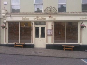 Sethu Indian Restaurant in Killorglin County Kerry